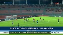 Gol Perdana Saddil Ramdani di Liga Malaysia