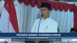 Jokowi tak Lelah Klarifikasi Tudingan Kriminalisasi Ulama