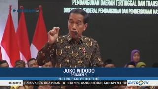 Presiden Apresiasi Pemanfaatan Dana Desa