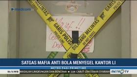 Satgas Antimafia Bola Segel Kantor PT Liga Indonesia di Kuningan