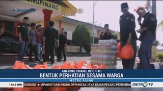 Melayu Raya Bagi-bagi Sembako untuk Etnis Tionghoa
