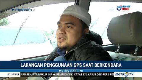 Tanggapan Masyarakat soal Larangan Penggunaan GPS Saat Berkendara