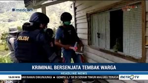 KKB Tembak Penjaga Kios di Papua