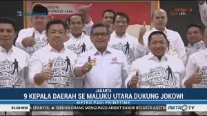 9 Kepala Daerah di Maluku Utara Dukung Jokowi-Ma'ruf