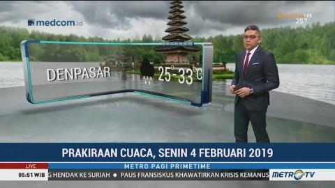 BMKG Keluarkan Peringatan Dini Hujan Lebat Disertai Petir di Sebagian Wilayah