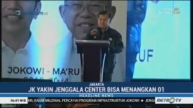 JK Minta Jenggala Center Kerja Keras Menangkan Jokowi-Ma'ruf