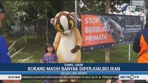 BKSDA Jabar Gelar Kampanye Stop Berburu Primata