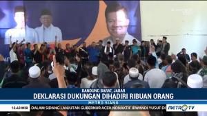 Ulama dan Milenial di Bandung Barat Dukung Jokowi-Ma'ruf