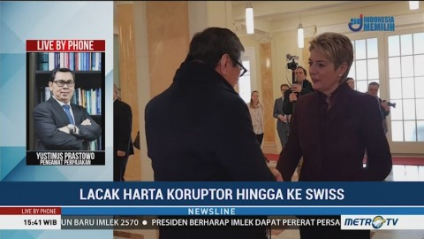 Swiss Bantu RI Melacak Harta Koruptor
