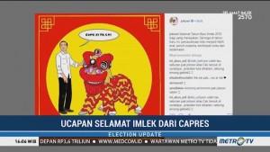 Ucapan Selamat Imlek dari Jokowi dan Prabowo