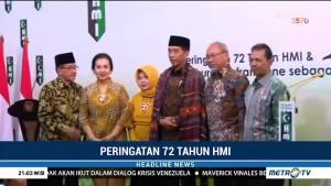 Jokowi Hadiri Peringatan 72 Tahun HMI