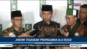 Jokowi: 'Propaganda ala Rusia' cuma Istilah