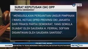 SBY Copot Ferrial Sofyan sebagai Wakil Ketua DPRD DKI Jakarta
