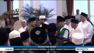 Presiden Jokowi Mengajak Ulama Ikut Menyejukkan Masyarakat