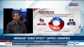 Debat Capres Tak Banyak Pengaruhnya Terhadap Elektabilitas