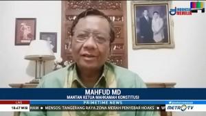 Mahfud MD Berharap DPR Objektif Memilih Calon Hakim MK