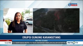 442 Warga Desa Batubulan Terisolasi Akibat Erupsi Gunung Karangetang