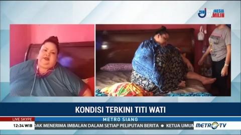 Kondisi Terkini Titi Wati, Penderita Obesitas Asal Palangkaraya