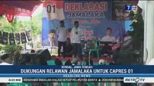 Relawan Jamalaka Deklarasi Dukung Jokowi-Ma'ruf