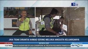 Polisi di Majene Rawat Penderita Gangguan Jiwa