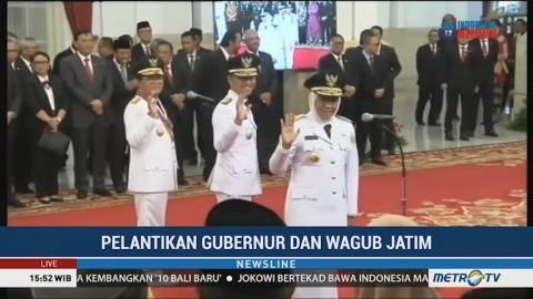 Khofifah-Emil Resmi Pimpin Jawa Timur