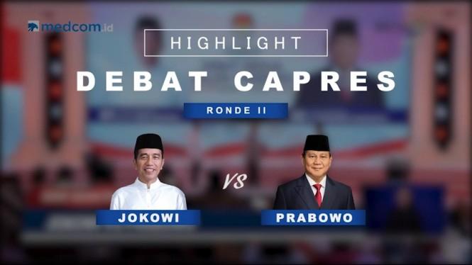 Highlight Debat Capres Ronde II