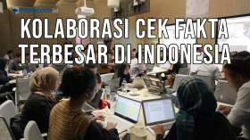 Kolaborasi Cek Fakta Terbesar di Indonesia