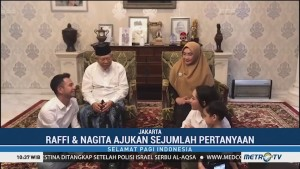 Raffi Ahmad Silaturahmi ke Kediaman Ma'ruf Amin