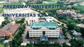 President University Menuju Universitas Kelas Dunia