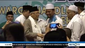 Ma'ruf Amin Silaturahmi dengan Warga Nahdliyin Jakbar