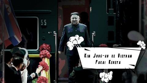 Naik KA ke Vietnam, Perjalanan Kim Jong-un dari Korut Makan Waktu 2,5 Hari