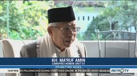 Ma'ruf Amin Minta Aktor Kampanye Hitam Diungkap Tuntas