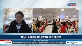 Relawan Jokowi-Amin se-Eropa Gelar Temu Akbar di Belanda