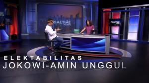 Highlight Primetime News - Elektabilitas Jokowi-Amin Masih Unggul