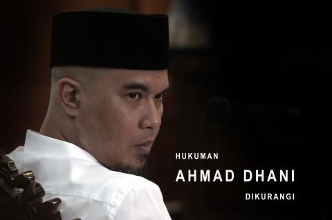 Hukuman Ahmad Dhani dikurangi