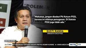 PSSI Tanggapi Status Gusti Randa