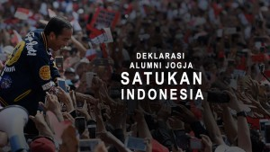 Suasana Deklarasi Alumni Jogja SATUkan Indonesia