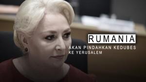 Rumania akan Pindahkan Kedubes ke Yerusalem