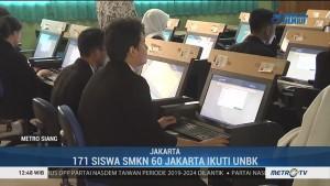 Pelaksanaan Hari Pertama UNBK SMK