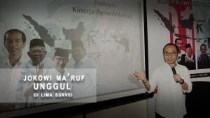 Jokowi-Ma'ruf Unggul di Lima Survei