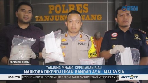 Petugas Gagalkan Penyelundupan 5 Kg Ganja dan 1.058 Pil Ekstasi
