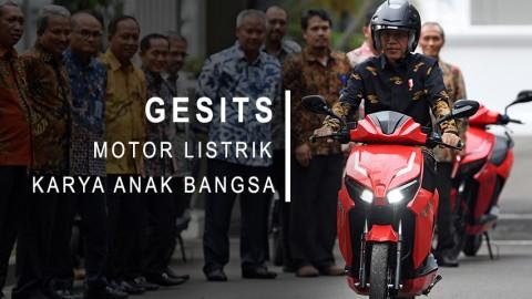 Gesits, Motor Listrik Karya Anak Bangsa