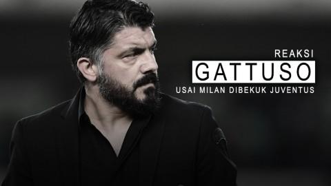 Reaksi Gattuso Usai Milan Dibekuk Juventus