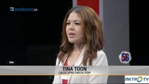 Ditanya Soal Anggaran Berperspektif Gender, Tina Toon: Saya Kurang Paham