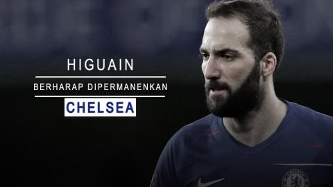 Higuain Berharap Dipermanenkan Chelsea