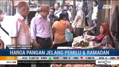 Mendag Jamin Harga Pangan Stabil Jelang Pemilu dan Ramadan