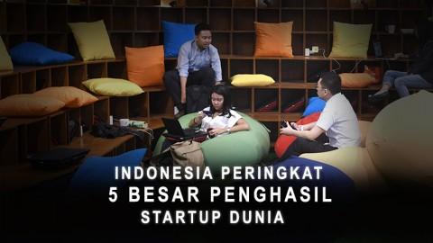 Indonesia Peringkat 5 Besar Penghasil Startup Dunia