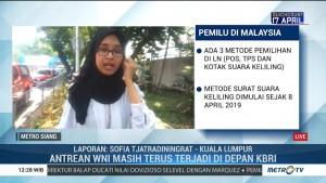 Pencoblosan di Malaysia, Antrean WNI Masih Mengular di Depan KBRI
