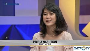 Prisia Nasution Mengaku Kini Lebih Melek Politik