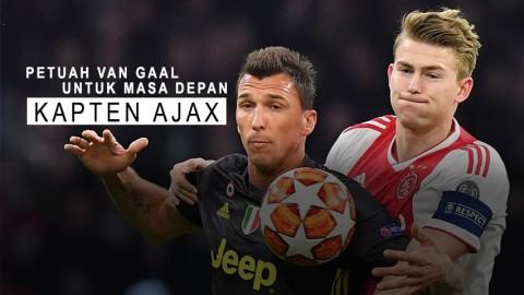 Petuah Van Gaal untuk Masa Depan Kapten Ajax